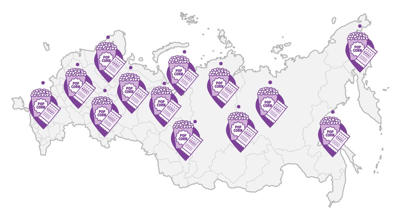 Итоги кинопроката Российской Федерации за первое полугодие 2018 года