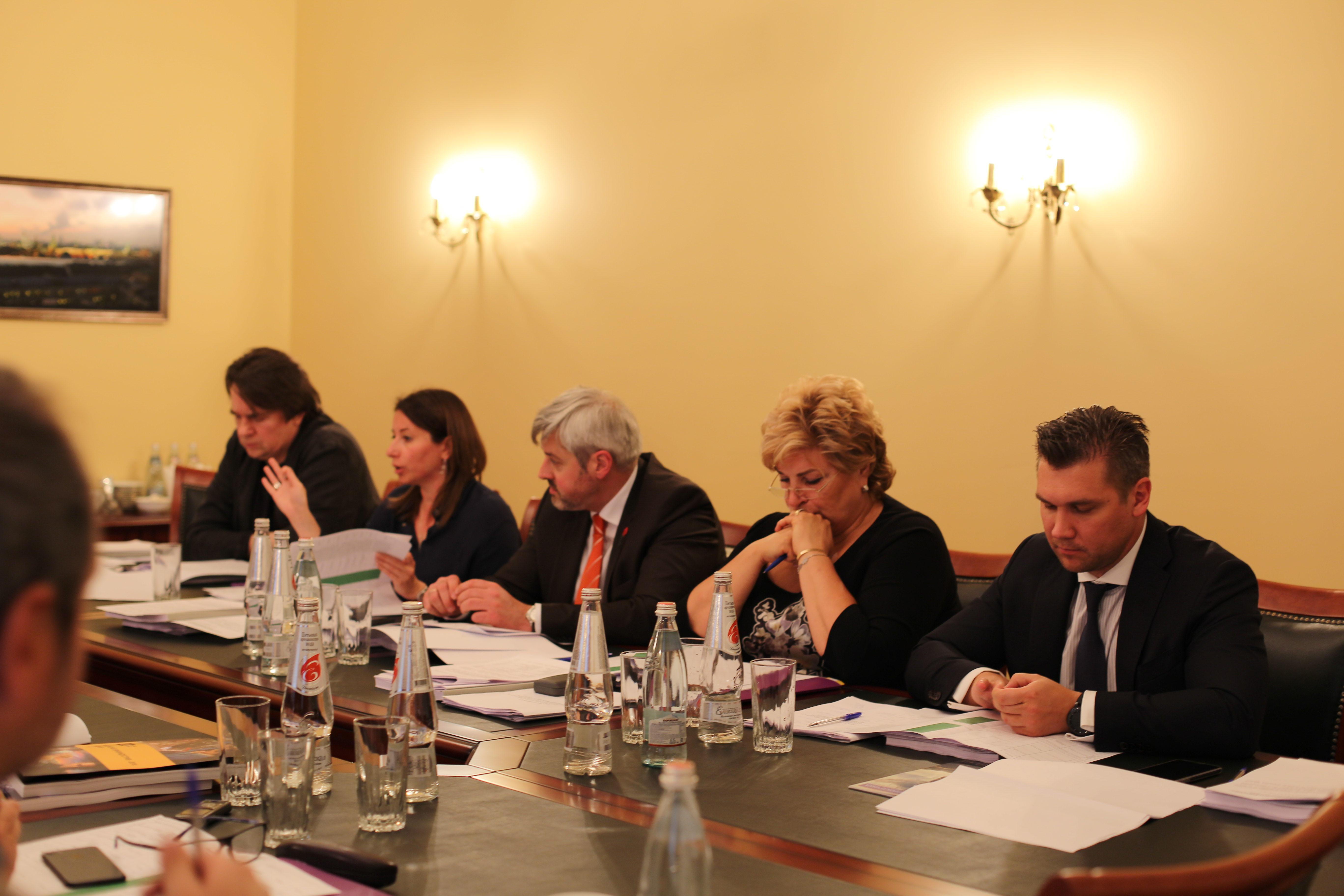 Заседание Попечительского совета Федерального фонда социальной и экономической поддержки отечественной кинематографии